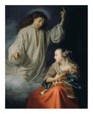 The Annunciation Prints by Godfried Schalcken