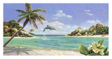 Seychelles Print by Andrea Del Missier