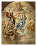 The Virgin as the Woman of the Apocalypse Posters by Peter Paul Rubens