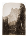 Sentinel (View of the Valley) 3270 ft. Yosemite, California, 1861 Prints by Carleton Watkins