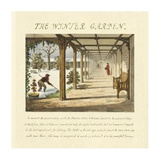 The Winter Garden, 1813 Poster by Humphry Repton