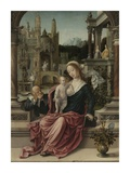 The Holy Family Plakat af Romano, Giulio