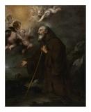 The Vision of Saint Francis of Paola Prints by Bartolome Esteban Murillo