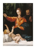 The Holy Family (The Madonna del Velo; Madonna di Loreto) Posters by  Unknown