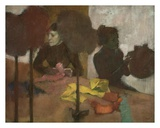 The Milliners Prints by Edgar Degas