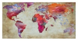 World in colors Prints by  Joannoo