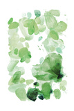 Butterfly Dance in Green A Posters by Allyson Fukushima