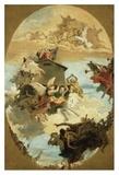 The Miracle of the Holy House of Loreto Prints by Giovanni Battista Tiepolo