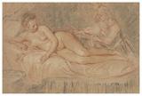 The Remedy Plakat af Jean-Antoine Watteau