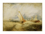 Van Tromp, going about to please his Masters, Ships a Sea, getting a Good Wetting, Prints by Joseph Mallord William Turner