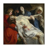 The Entombment Prints by Peter Paul Rubens