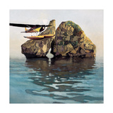 Rugged Coast No.7 Giclee Print by Max Hayslette