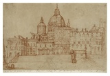 View of Saint Peter's, 1603 Prints by Federico Zuccaro