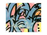 Graffiti 2 Lámina giclée por Sid Rativo