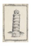 Sketch of Pisa Poster by Ethan Harper