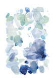 Butterfly Dance in Blue A Print by Allyson Fukushima