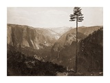 Yosemite Valley from the Best General View, 1866 Posters by Carleton Watkins