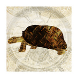 Steam Punk Turtle I Premium Giclee Print by Pam Ilosky