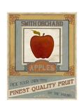 Vintage Produce Sign V Posters by June Vess