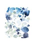 Butterfly Dance in Blue C Giclee Print by Allyson Fukushima