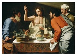 The Supper at Emmaus Prints by Bartolomeo Cavarozzi
