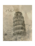 Remembering Italy Print by Irena Orlov