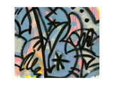 Graffiti 1 Lámina giclée por Sid Rativo
