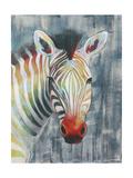 Prism Zebra I Art by Grace Popp