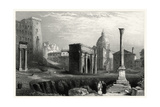 Antique View of Rome Prints