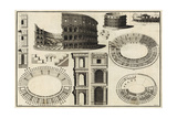 Diagram of the Colosseum Prints