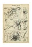Map of the Coast of England III Prints