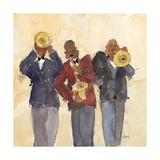 Jazz Trio I Reproduction giclée Premium par Samuel Dixon