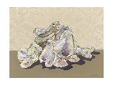Shell Collection II Print by Dianne Miller