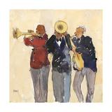 Jazz Trio II Reproduction giclée Premium par Samuel Dixon