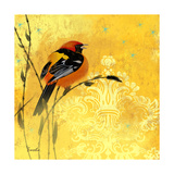 Oriole and Cartouche II Posters by Evelia Designs