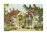 Aquarelle Garden VIII Posters by Dianne Miller