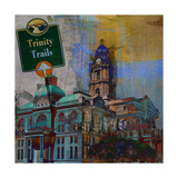 Trinity Trails - Ft. Worth Posters by Sisa Jasper
