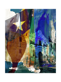 Alamo Flag Posters by Sisa Jasper
