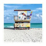 Miami Beach IV Print by Richard Silver