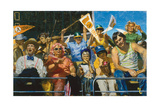 Fans Down: a Section of Dejected Fans at the 1976 Baseball World Series Giclee Print by Stanley Meltzoff