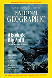 Cover of the January, 1990 National Geographic Magazine Photographic Print by Natalie B. Fobes