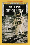 Cover of the December, 1969 National Geographic Magazine Fotografisk tryk af  NASA
