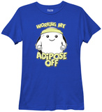 Womans: Doctor Who- Working My Adipose Off T-shirts