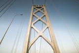 The San Francisco Bay Bridge in California Photographic Print by Jeff Mauritzen