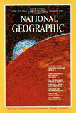 Cover of the January, 1980 National Geographic Magazine Photographic Print by  NASA