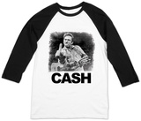 Johnny Cash- The Bird (Raglan) Shirt