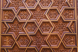 Carved Star of David in the Door of the Holy Ark in the Neve Shalom Synagogue in Casablanca Photographic Print by Richard Nowitz