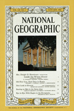 Cover of the January, 1961 National Geographic Magazine Photographic Print by B. Anthony Stewart