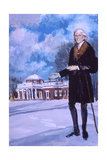 Thomas Jefferson, the Man from Monticello Giclee Print by Stanley Meltzoff