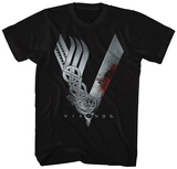 Vikings- Show Logo T-Shirt